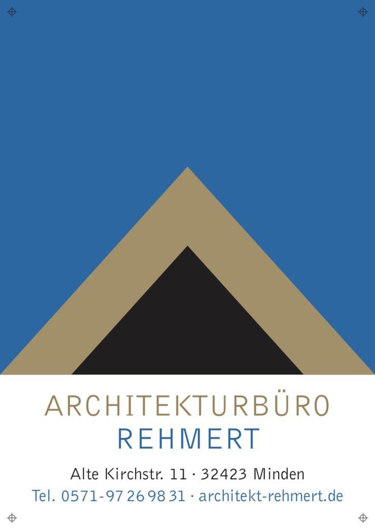 Architekturbüro Rehmert Baustellenschild mit Logo und Adresse .jpg