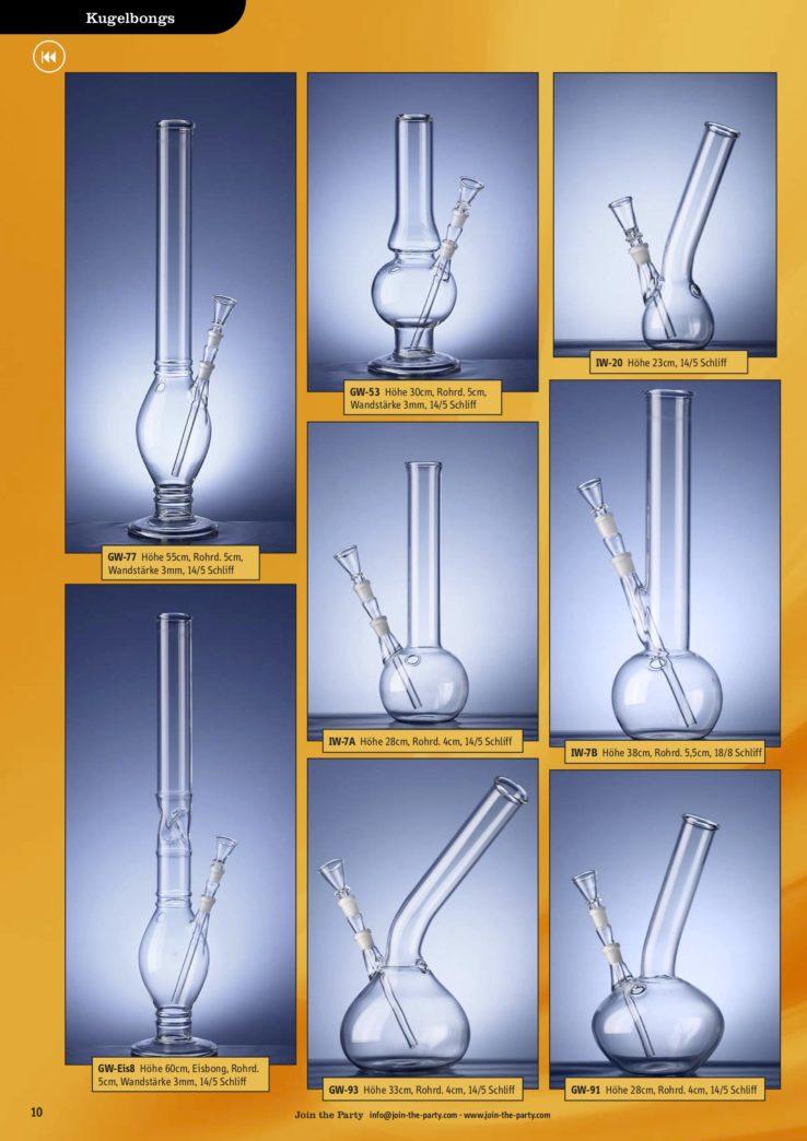 Glas-Objekte Fotografie & Fotodesign für einen Katalog der Firma join the party.
